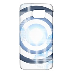 Center Centered Gears Visor Target Galaxy S6
