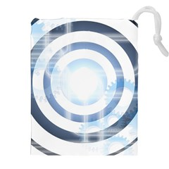 Center Centered Gears Visor Target Drawstring Pouches (XXL)