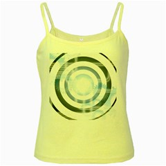 Center Centered Gears Visor Target Yellow Spaghetti Tank
