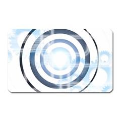 Center Centered Gears Visor Target Magnet (Rectangular)