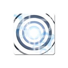 Center Centered Gears Visor Target Square Magnet