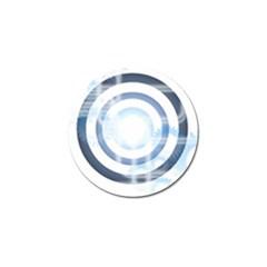 Center Centered Gears Visor Target Golf Ball Marker (10 Pack)