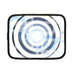 Center Centered Gears Visor Target Netbook Case (small)
