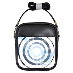 Center Centered Gears Visor Target Girls Sling Bags