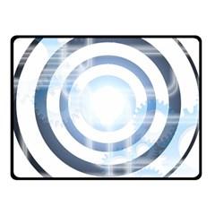 Center Centered Gears Visor Target Fleece Blanket (small)