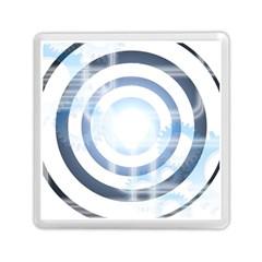 Center Centered Gears Visor Target Memory Card Reader (square)