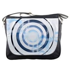 Center Centered Gears Visor Target Messenger Bags