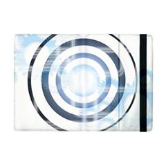 Center Centered Gears Visor Target Apple iPad Mini Flip Case
