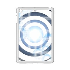 Center Centered Gears Visor Target iPad Mini 2 Enamel Coated Cases