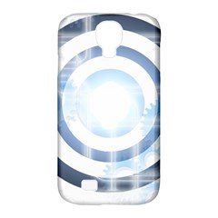 Center Centered Gears Visor Target Samsung Galaxy S4 Classic Hardshell Case (PC+Silicone)