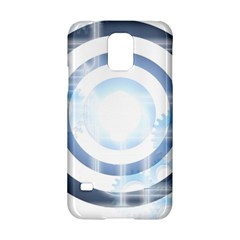 Center Centered Gears Visor Target Samsung Galaxy S5 Hardshell Case