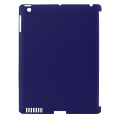 USA Flag Blue Royal Blue Deep Blue Apple iPad 3/4 Hardshell Case (Compatible with Smart Cover)