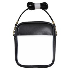 Solid Snow White Christmas Color Girls Sling Bags