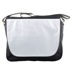 Solid Snow White Christmas Color Messenger Bags