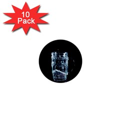 Glass Water Liquid Background 1  Mini Magnet (10 pack)