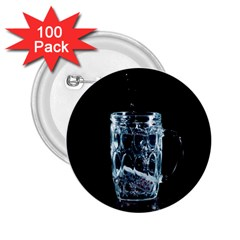 Glass Water Liquid Background 2 25  Buttons (100 Pack)