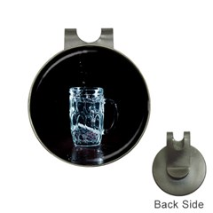 Glass Water Liquid Background Hat Clips With Golf Markers