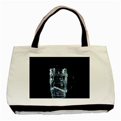 Glass Water Liquid Background Basic Tote Bag (two Sides)