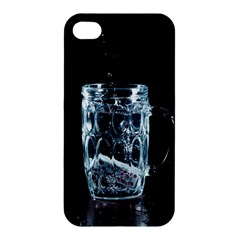 Glass Water Liquid Background Apple Iphone 4/4s Hardshell Case