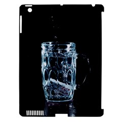 Glass Water Liquid Background Apple iPad 3/4 Hardshell Case (Compatible with Smart Cover)