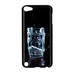 Glass Water Liquid Background Apple Ipod Touch 5 Case (black)