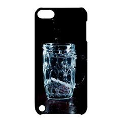 Glass Water Liquid Background Apple Ipod Touch 5 Hardshell Case With Stand