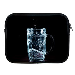 Glass Water Liquid Background Apple Ipad 2/3/4 Zipper Cases