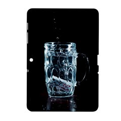 Glass Water Liquid Background Samsung Galaxy Tab 2 (10.1 ) P5100 Hardshell Case
