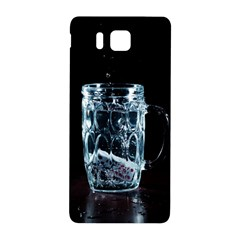 Glass Water Liquid Background Samsung Galaxy Alpha Hardshell Back Case
