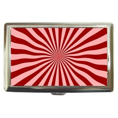 Sun Background Optics Channel Red Cigarette Money Cases