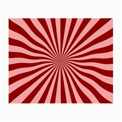 Sun Background Optics Channel Red Small Glasses Cloth (2 Side)