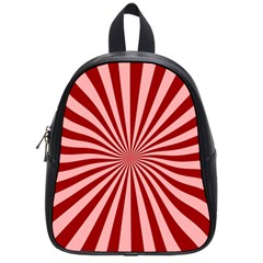 Sun Background Optics Channel Red School Bags (small)