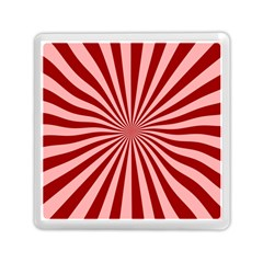 Sun Background Optics Channel Red Memory Card Reader (square)