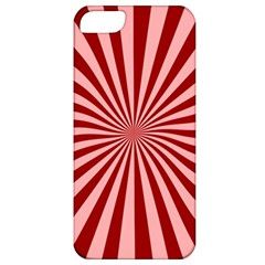 Sun Background Optics Channel Red Apple Iphone 5 Classic Hardshell Case