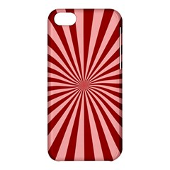 Sun Background Optics Channel Red Apple Iphone 5c Hardshell Case