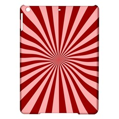 Sun Background Optics Channel Red Ipad Air Hardshell Cases