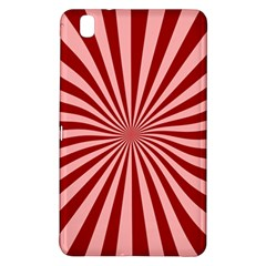 Sun Background Optics Channel Red Samsung Galaxy Tab Pro 8 4 Hardshell Case