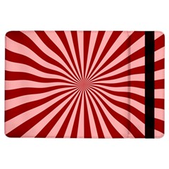 Sun Background Optics Channel Red iPad Air Flip
