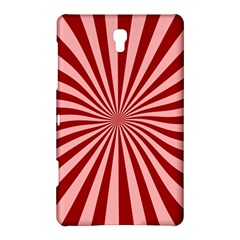 Sun Background Optics Channel Red Samsung Galaxy Tab S (8.4 ) Hardshell Case