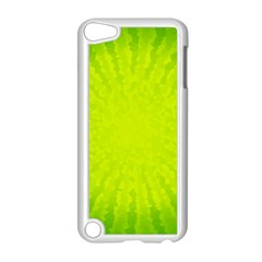 Radial Green Crystals Crystallize Apple Ipod Touch 5 Case (white)