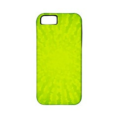 Radial Green Crystals Crystallize Apple iPhone 5 Classic Hardshell Case (PC+Silicone)