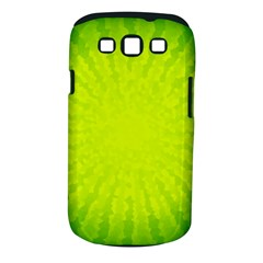 Radial Green Crystals Crystallize Samsung Galaxy S Iii Classic Hardshell Case (pc+silicone)