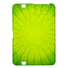 Radial Green Crystals Crystallize Kindle Fire Hd 8 9