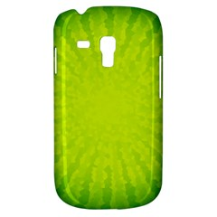Radial Green Crystals Crystallize Galaxy S3 Mini