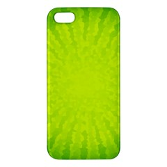 Radial Green Crystals Crystallize Iphone 5s/ Se Premium Hardshell Case