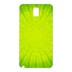 Radial Green Crystals Crystallize Samsung Galaxy Note 3 N9005 Hardshell Back Case