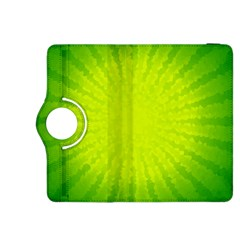 Radial Green Crystals Crystallize Kindle Fire Hdx 8 9  Flip 360 Case