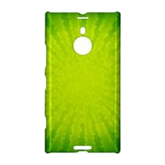 Radial Green Crystals Crystallize Nokia Lumia 1520