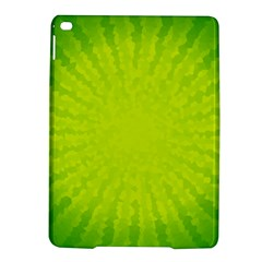 Radial Green Crystals Crystallize Ipad Air 2 Hardshell Cases