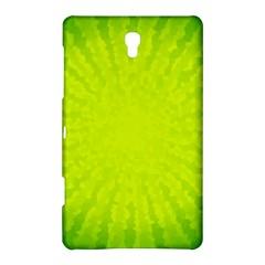 Radial Green Crystals Crystallize Samsung Galaxy Tab S (8 4 ) Hardshell Case